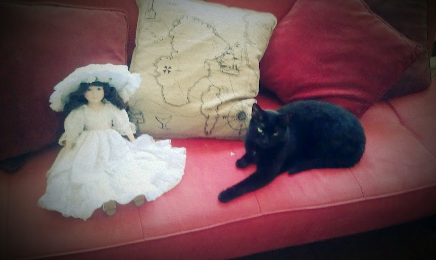 Salem, on the very first couch she ever murdered.