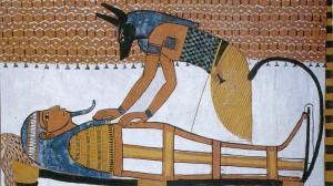 © Asaf Braverman - Anubis Reconstructing Osiris (1350 BC, Tomb of Ramses 1, Egypt)